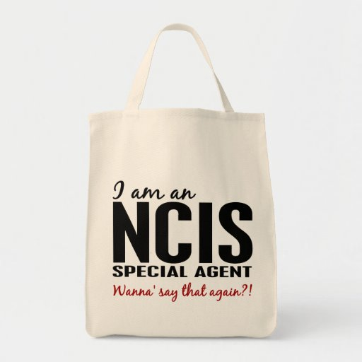 I Am An NCIS Special Agent Bags