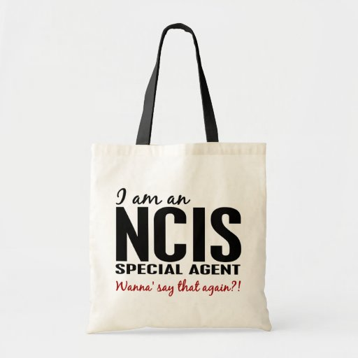 I Am An NCIS Special Agent Tote Bags