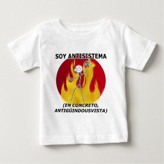 I am anti-system… baby T-Shirt