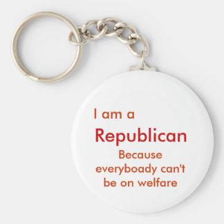 I am aRepublican Keychain