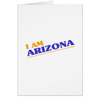 I am Arizona shirts Greeting Card