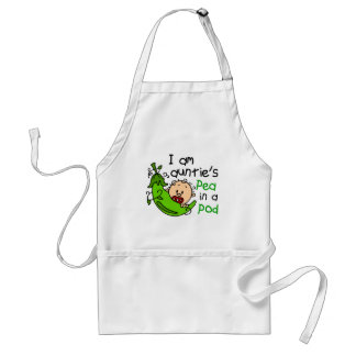 I Am Auntie's Pea In A Pod Aprons