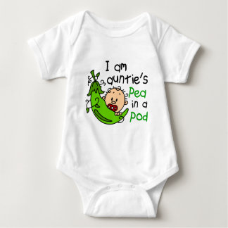 I Am Auntie's Pea In A Pod Baby Bodysuit