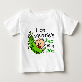 I Am Auntie's Pea In A Pod Baby T-Shirt