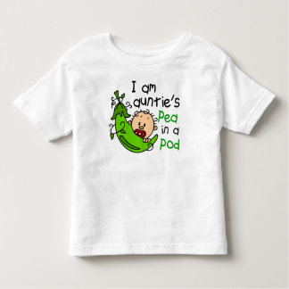 I Am Auntie's Pea In A Pod Toddler T-shirt
