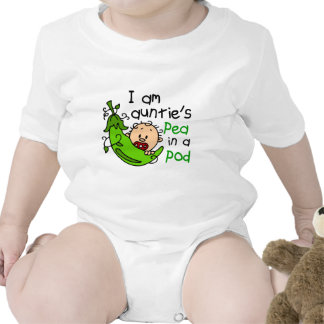 I Am Auntie's Pea In A Pod Tees