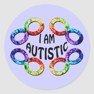 I Am Autistic Stickers