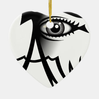 I Am Awake Ceramic Ornament