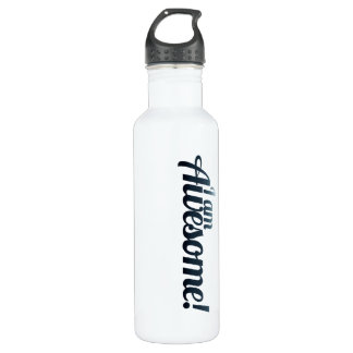 I am AWESOME 24oz Water Bottle