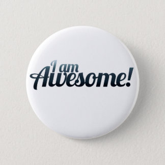 I am AWESOME Button