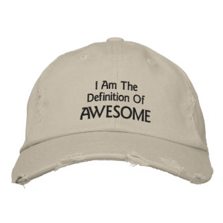 I Am Awesome Cap