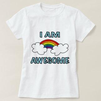 """I Am Awesome"" Rainbow T-Shirt"