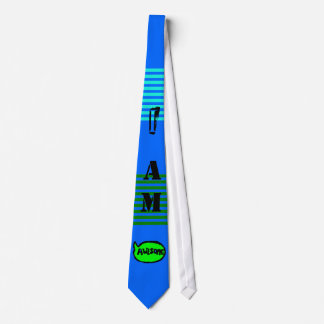 I Am Awesome TIE (Success Blue)