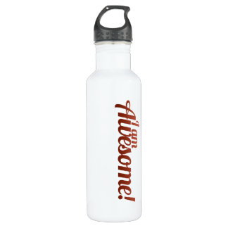 I am Awesome Water Bottle
