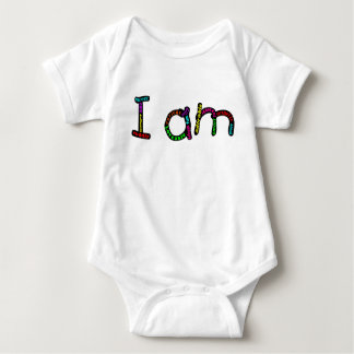 I am baby jersey bodysuit