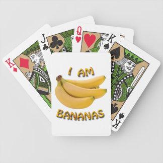 I Am Bananas Bicycle Playing Cards