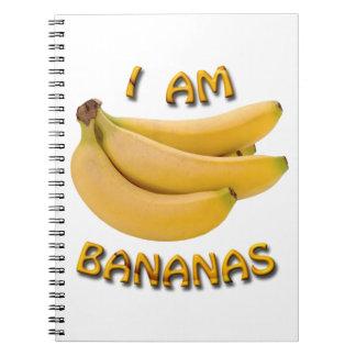 I Am Bananas Notebook