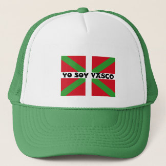 """""""I am Basque"""" in Spanish, Trucker Hat"""
