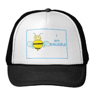 I am beautiful trucker hat