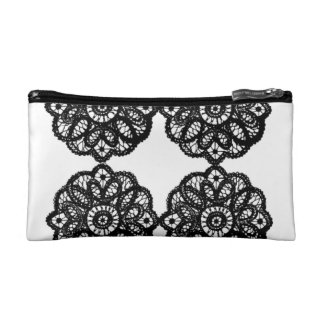 I am beautiful lace make up bag