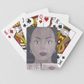 """I Am Beautiful!"" Playing Cards"