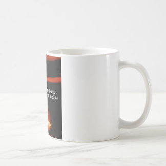 I am become death, the destroyer of worlds. coffee mug