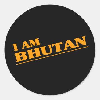 I am Bhutan Stickers