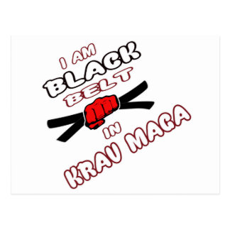 I am Black belt in Krav Maga. Postcard