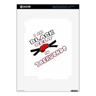 I am Black belt in Taekwondo iPad 3 Skins