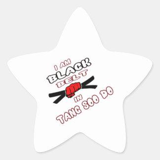 I am Black belt in Tang Soo Do. Star Sticker