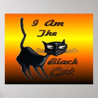 I Am Black Cat Poster