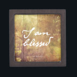 """I am Blessed Gift Box<br><div class=""""desc"""">Show your appreciation with this simple but creative design.</div>"""