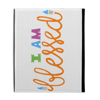 I Am Blessed (Original Typography) iPad Cases