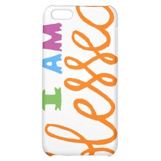 I Am Blessed (Original Typography) iPhone 5C Cases