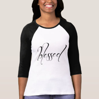 I Am Blessed Statement Women's Tee Shirt