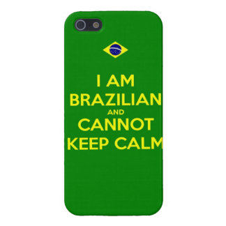 i am brazilian and i cannot keep calm cover for iPhone SE/5/5s