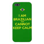 i am brazilian and i cannot keep calm case for iPhone 5