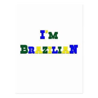 I am Brazilian Postcard