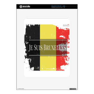 I Am Brussels (Je Juis Bruxelles) Decal For The iPad