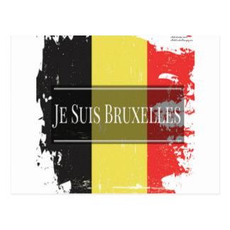 I Am Brussels (Je Juis Bruxelles) Postcard