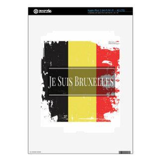I Am Brussels (Je Juis Bruxelles) Skin For iPad 3
