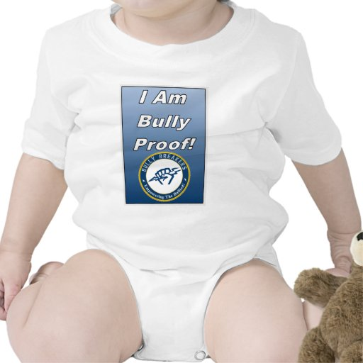 I am Bully Proof Anti Bully Clothing Romper