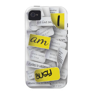 I am Busy Vibe iPhone 4 Cover