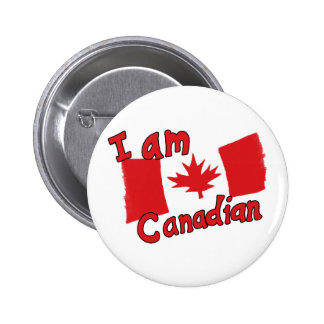 I am Canadian Button