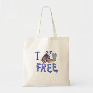 I am CAR free Tote Bag