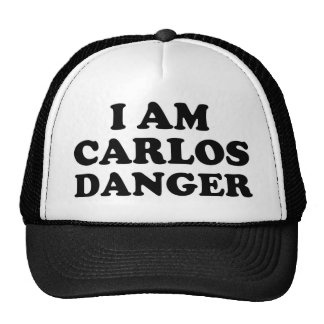 I Am Carlos Danger Trucker Hat