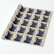 I Am Cat Pattern Wrapping Paper
