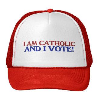 I am catholic and I vote Trucker Hat