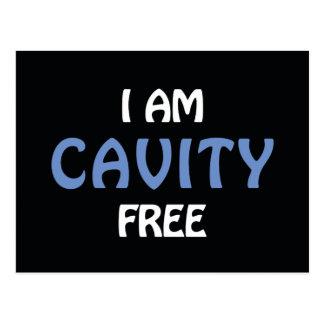 I am Cavity Free Postcard