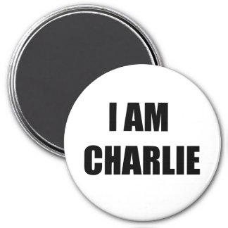 I AM CHARLIE FRIDGE MAGNET